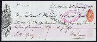 Picture of National Bank of Scotland Ltd., Dumfries, 18(90)