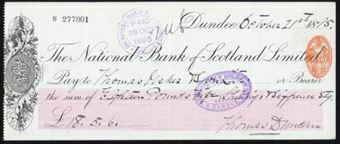 Picture of National Bank of Scotland Ltd., Dundee, 18(95)