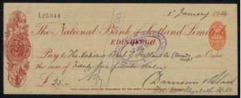 Picture of National Bank of Scotland Ltd., Edinburgh, 19(14)