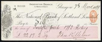 Picture of National Bank of Scotland Ltd., Glasgow, Anderston Branch, 18(99)