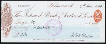 Picture of National Bank of Scotland Ltd., Kilmarnoch, 18(94)