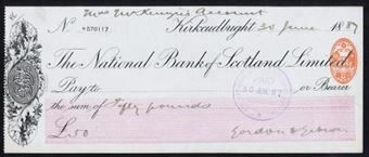Picture of National Bank of Scotland Ltd., Kirkcudbright, 18(89)