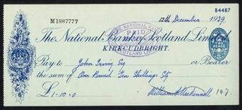 Picture of National Bank of Scotland Ltd., Kirkcudbright, 19(39)