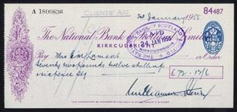 Picture of National Bank of Scotland Ltd., Kirkcudbright, 19(55)