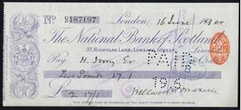 Picture of National Bank of Scotland Ltd., London, 18(91)