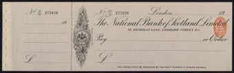 Picture of National Bank of Scotland Ltd., London, 19(15)