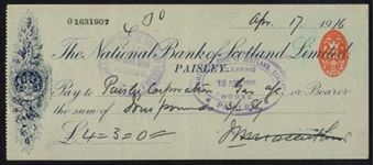 Picture of National Bank of Scotland Ltd., Paisley, 19(15)