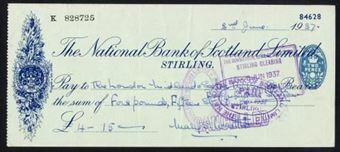 Picture of National Bank of Scotland Ltd., Stirling, 19(37)