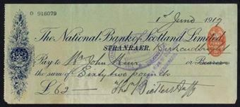 Picture of National Bank of Scotland Ltd., Stranraer, 19(17)