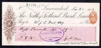 Picture of North of Scotland Bank Ltd., Laurencekirk, 190(7)
