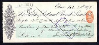 Picture of North of Scotland Bank Ltd., Oban, 189(8)
