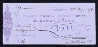 Picture of North of Scotland Banking Co., Aberdeen, 187(6)