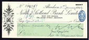 Picture of North of Scotland Bank Ltd., Aberdeen, 19(50)