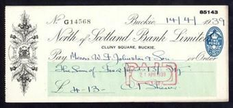 Picture of North of Scotland Bank Ltd., Cluny Square, Buckie, 19(39)