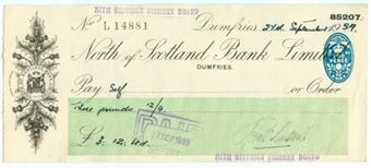 Picture of North of Scotland Bank Ltd., Dumfries, 19(39)