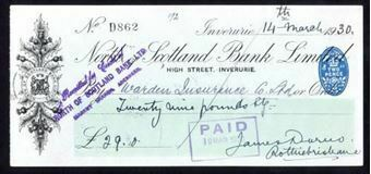Picture of North of Scotland Bank Ltd., Inverurie, 19(29)