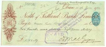 Picture of North of Scotland Bank Ltd., Oban, 192(5)
