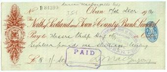 Picture of  North of Scotland and Town & County Bank Ltd. , Oban, 19(24)