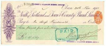 Picture of  North of Scotland and Town & County Bank Ltd. , Oban, 191(3)