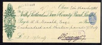 Picture of North of Scotland and Town & County Bank Ltd., Oban, 191(20)