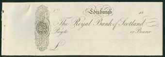 Picture of Royal Bank of Scotland, Edinburgh, 18--, circa 1845