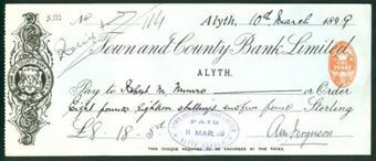Picture of Town & County Bank Ltd., Alyth, 189(9)