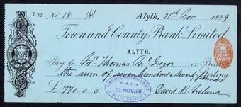 Picture of Town and County Bank Ltd., Alyth, 189(9)
