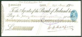 Picture of Agents of the Bank of Ireland, Cavan, 19(20)