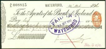 Picture of Agents of the Bank of Ireland, Waterford, 19(17)