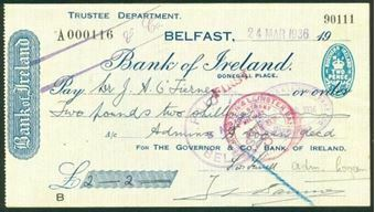 Picture of Bank of Ireland, Donegall Place, Belfast, 19(36)