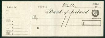 Picture of Bank of Ireland, Dublin, 19--, circa 1960