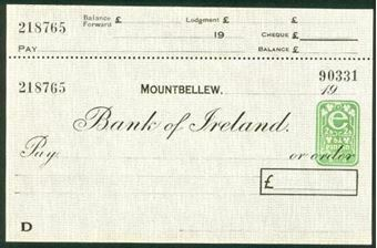 Picture of Bank of Ireland, Mountbellew, 19(48)