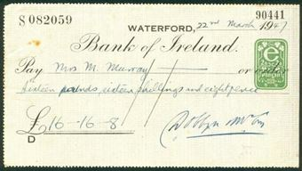 Picture of Bank of Ireland, Waterford, 19(47)