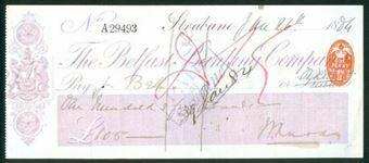 Picture of Belfast Banking Co. Ltd, Strabane, 18(84)
