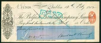 Picture of Belfast Banking Co. Ltd., Dublin, College Green, 19(12)