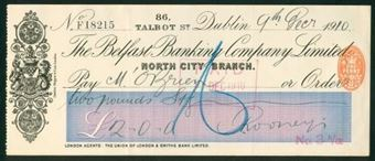 Picture of Belfast Banking Co. Ltd., Dublin, North City Branch, 19(10)