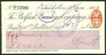 Picture of Belfast Banking Co. Ltd., Enniskillen, 19(12)