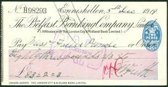 Picture of Belfast Banking Co. Ltd., Enniskillen, 19(19)