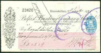 Picture of Belfast Banking Co. Ltd., Enniskillen, 19(20)