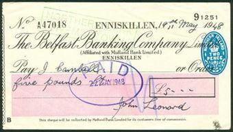 Picture of Belfast Banking Co. Ltd., Enniskillen, 19(48)