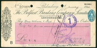 Picture of Belfast Banking Co. Ltd., Londonderry, 19(41)
