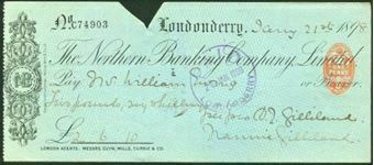 Picture of Northern Banking Company, Ltd., Londonderry, 189(8)