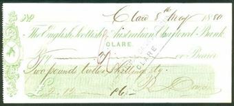 Picture of English, Scottish & Australian Chartered Bank, Clare, 18(80)
