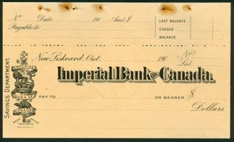 Picture of Imperial Bank of Canada, New Liskeard, Ontario, 190-