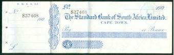 Picture of Standard Bank of South Africa, Ltd., Cape Town, 190-
