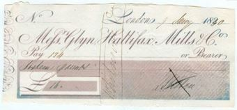 Picture of Messrs Glyn, Hallifax, Mills & Co., 182(30)