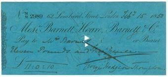 Picture of Messrs Barnett, Hoare, Barnett & Co, 62 Lombard Street, 18(50)