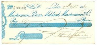Picture of Masterman, Peters, Mildred, Masterman & Co., 35 Nicholas Lane, 18(62), OTG 14