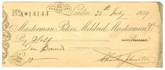 Picture of Masterman, Peters, Mildred, Masterman & Co., 35 Nicholas Lane, 185(9), OTG 16a