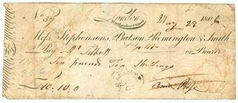 Picture of Messrs Stephensons, Batson, Remington & Smith, 69 Lombard Street, 180(6)